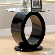 Hokku Designs Ashton End Table; Black