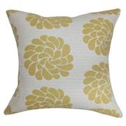The Pillow Collection Ellisras Floral Throw Pillow Cover