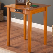 Atlantic Furniture Belmont Printer Stand; Caramel Latte