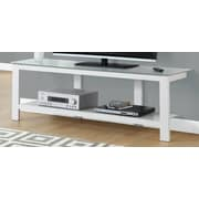 Monarch Specialties Inc. TV Stand; White
