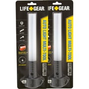 Life Gear Glow Auto Emergency Flashlight Auto Tool, 2/Pack