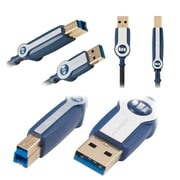 4-Pack Monster Cable HP USB 3.0 Cable 900 Ultra High Speed A to B
