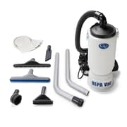 GV New 6 Quart HEPA BackPack Vacuum w/Proffesional 1.5'' Tool Kit Commercial Restaurant Industrial