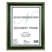 Artistic Products Breeze Point Prestige Picture Frame; Black / Gold