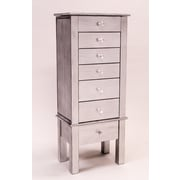Hives & Honey Hannah Jewelry Armoire; Silver