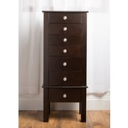 Hives & Honey Crystal Jewelry Armoire; Espresso
