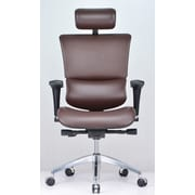 Conklin Office Furniture Vito Leather Executive Chair with Headrest
