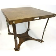 Spiderlegs Puzzle Folding Bar Table; Dark Walnut