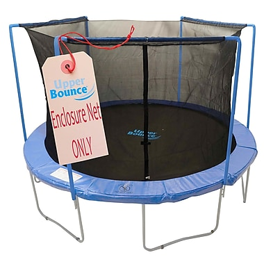 Upper Bounce 13' Round Trampoline Net Using 3 Arches