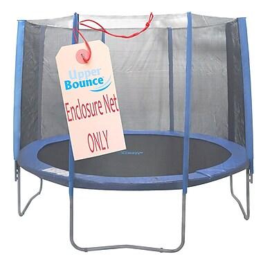 Upper Bounce 10' Round Trampoline Net Using 8 Straight Poles
