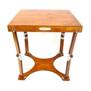 Spiderlegs Folding Homework Writing Desk; Light Cherry