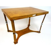 Spiderlegs Picnic Folding Dining Table; Warm Oak