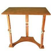 Spiderlegs Folding Laptop Desk/Tray Table; Warm Oak