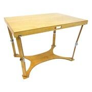 Spiderlegs Picnic Folding Dining Table; Golden Oaks