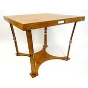 Spiderlegs Puzzle Folding Bar Table; Warm Oak