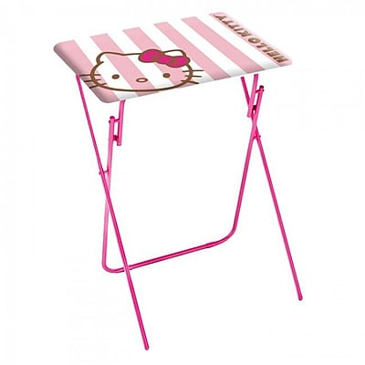 Dar Hello Kitty Folding TV Tray Set (Set of 2)