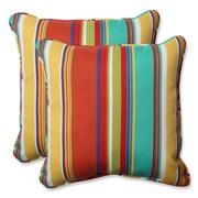 Pillow Perfect Indoor/Outdoor Throw Pillow (Set of 2); Westport Spring