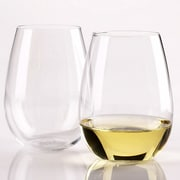 Wine Enthusiast Companies Chardonnay Stemless Wine Glass (Set of 4)
