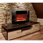 Meridian Point 2 in 1 Table Top or Wall Mount Electric Fireplace