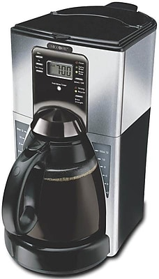 Rival Coffee Maker How To Use : Sunbeam Rival 12 Cup Automatic Coffee Maker Staples
