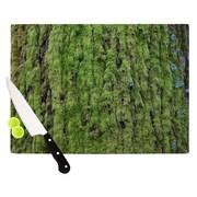 KESS InHouse Emerald Moss Cutting Board; 11.5'' W x 8.25'' D