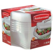 Rubbermaid 4 Piece Take Alongs Deep Square Container Set