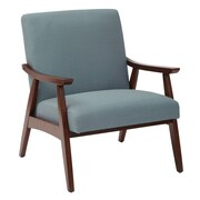 Ave Six Davis Arm Chair; Klein Sea