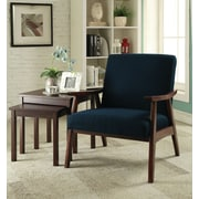 Ave Six Davis Arm Chair; Klein Azure