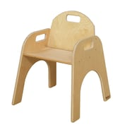 Wood Designs Wood Classroom Chair; 11''