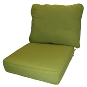 Greendale Home Fashions Outdoor Lounge Chair Cushion; Kiwi
