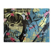 "Trademark Fine Art ''New Dramatic'' by Dan Monteavaro 18"" x 24"" Canvas Art (ALI0969-C1824GG)"
