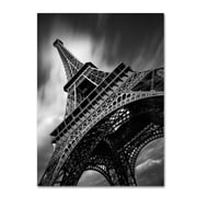 "Trademark Fine Art ''Eiffel Tower Study II'' by Moises Levy 18"" x 24"" Canvas Art (ALI1056-C1824GG)"