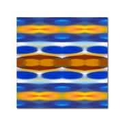 """Trademark Fine Art ''Winter Forest Square 2'' by Amy Vangsgard  14"""" x 14"""" Canvas Art (AV0146-C1414GG)"""