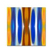 """Trademark Fine Art ''Winter Forest Square 7'' by Amy Vangsgard  18"""" x 18"""" Canvas Art (AV0147-C1818GG)"""
