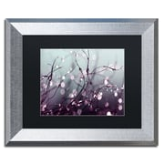 """Trademark Fine Art ''Somewhere Over the Rainbow'' by Beata Czyzowska Young 11"""" x 14"""" Silver Frame (BC0017-S1114BMF)"""