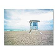 "Trademark Fine Art ''Florida Beach Chair 2'' by Preston 18"" x 24"" Canvas Art (EM0518-C1824GG)"