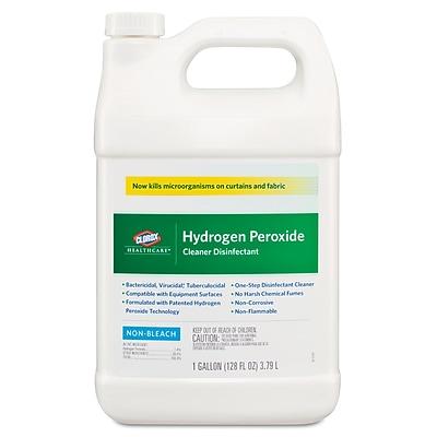 Clorox Hydrogen-Peroxide Cleaner/disinfectant, 1 Gal Bottle, 4/carton