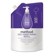 Method Gel Hand Wash Refill, French Lavender, 34 Oz Pouch, 6/carton