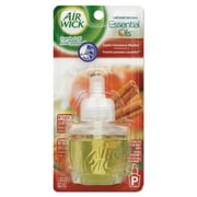 Air Wick Scented Oil Refill, Warming - Apple Cinnamon Medley, .67oz Bottle, Orange, 8/ct