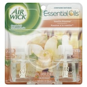 Air Wick Scented Oil Refill, Vanilla Passion, .67oz, Clear, 2/pack, 6 Packs/carton