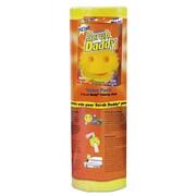 "Scrub Daddy Scratch-Free Scrubbing Sponge, 4 1/8"" Diameter, Yellow, Polymer Foam, 8/pack"