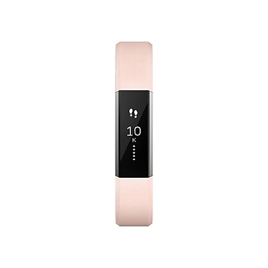Fitbit Alta Leather Accessory Band, Pink