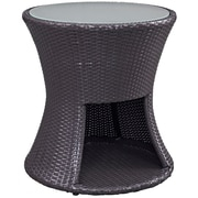Modway Strum Outdoor Patio Side Table, Espresso (EEI-1002-EXP)
