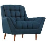 """Modway Response 39.5""""D Fabric Armchair, Blue (EEI-1786-AZU)"""
