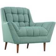 "Modway Response 39.5"" Fabric Armchair. Laguna (EEI-1786-LAG)"