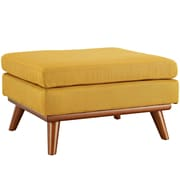 Modway Engage Fabric Ottoman, Citrus (EEI-1797-CIT)