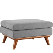 Modway Engage Fabric Ottoman, Expectation Gray (EEI-1797-GRY)