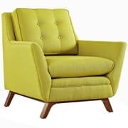 """Modway Beguile 36""""W Fabric Armchair, Green (EEI-1798-WHE)"""
