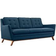 "Modway Beguile 83.5""W Fabric Sofa, Blue (EEI-1800-AZU)"