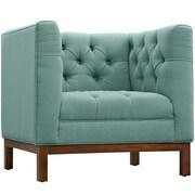 "Modway Panache 34"" Fabric Armchair, Laugna (EEI-1801-LAG)"